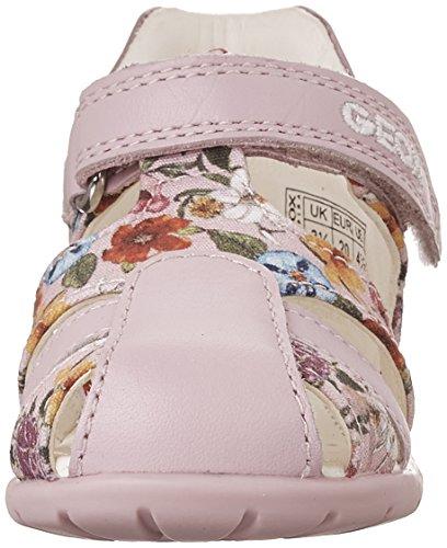 Geox B Kaytan D, Chaussures Marche Bébé Fille Rose (LT PINKC8010)