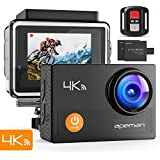 Apeman Action Cam 4 K WiFi Camera 16MP 30 m Waterproof Underwater Camera Motorcycle Bike Riding