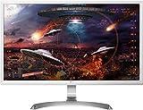 LG 27UD59-W - Monitor 4K UHD de 68,6 cm (27') con Panel IPS (3840 x 2160 píxeles, 16:9, 250 cd/m², NTSC 72%, 1000:1, 5 ms, 60 Hz) Color Blanco