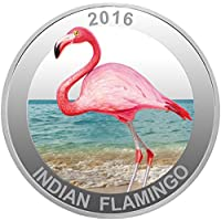 28,3 gram indiano Flamingo 999 argento monete – Limited Edition by Mmtc Pamp