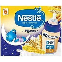 NESTLÉ Leche y Cereales Pijama - Paquete de 6 x 2 unidades de ...
