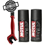 Grand Pitstop Motul Combo of C2 Chain Lube and C1 Clean (150 ml)