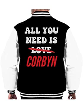 All You Need Is Jeremy Corbyn Men's Varsity Jacket