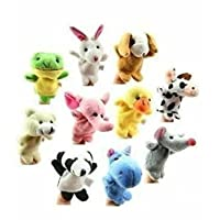 Wicemoon Baby Kids Finger Animal Toy Puppet Party Bag Fillers Early Education Toys Gift