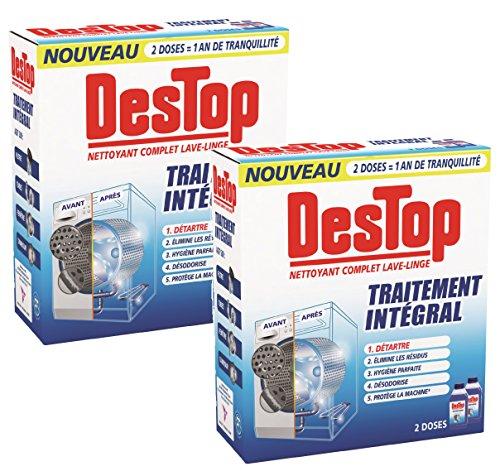 Destop Nettoyant Complet Lave-Linge - 2*500 ml - Lot de 2