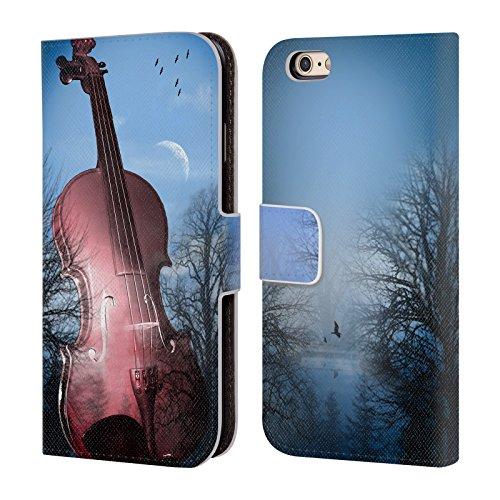 Offizielle Mark Ashkenazi Violin Musik Brieftasche Handyhülle aus Leder für Apple iPhone 6 / 6s