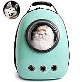 Owikar Voyage Astronaute Sac à dos de transport pour animal Portable Space Capsule épaule Sac de voyage Outdoor imperméable respirant extérieur Sac à dos pour petit chien chat