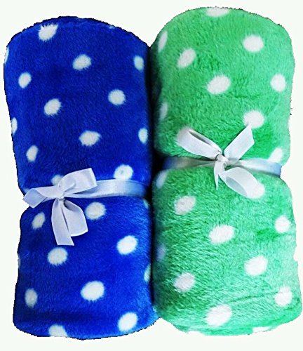 Love Bird A/C Baby Blanket Set Of 2 (Fur)(Cotton Socks Worth Rs.60 FREE)