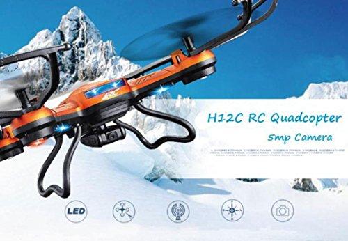 Bescita JJRC H12CH Kopfloser Modus Eine Schlüsselrückkehr RC Quadcopter mit Kamera 5MP UFO(H12C Upgrade hohe Funktion auf eine Version von T und Nachrichten ET) - 5