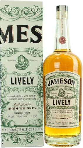 Jameson LIVELY The Deconstructed Series Irish Whisky mit Geschenkverpackung (1 x 1 l)