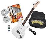 Rocktile Sphere Classic Guitare Électrique White avec accessoires
