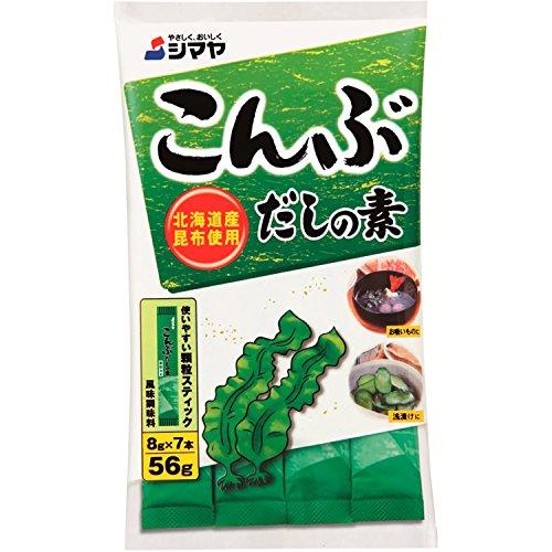 Dashi in polvere per il konbu SHIMAYA 56g Giappone - Confezione da 6 pz
