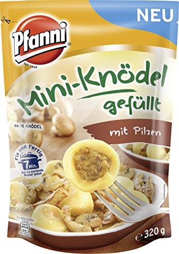 Pilz Fix (Pfanni Mini-Knödel gefüllt mit Pilzen, 7er-Pack (7 x 320 g))