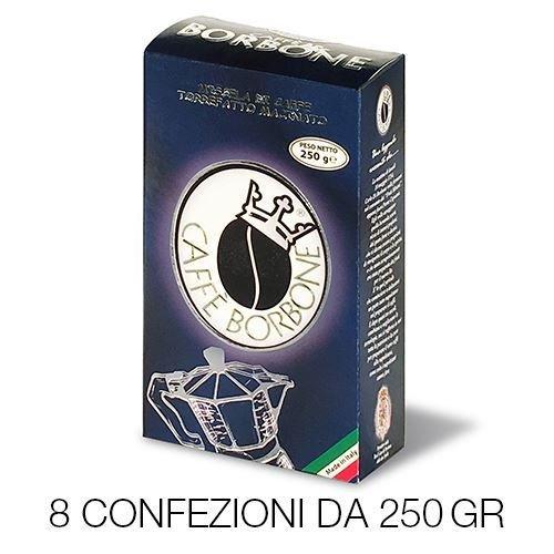 8 x 250g macinato caffe borbone moka ( 2kg )