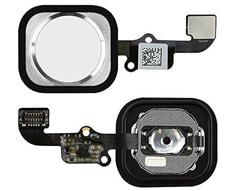 liondo® Haute Qualité pour iPhone 6/6Plus Bouton Home bouton en argent–complet avec câble