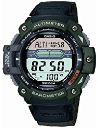 Casio Mens Watch SGW-300HB-3AVER Digital with Altimeter and Fabric Strap