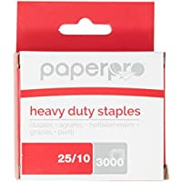 PaperPro - 1962 - 25/10 Premium Heavy Duty Staples, Pack of 3000 Pins