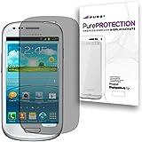 Pure² PurePROTECTION 6x Displayschutzfolie matt für Samsung I8190 Galaxy S3 mini kratzfestest mit Anti Glare Beschichtung (Keine Reflektion -Entspiegelnd), keine Fingerabdrücke mehr. 6x Schutzfolie im BIG PACK