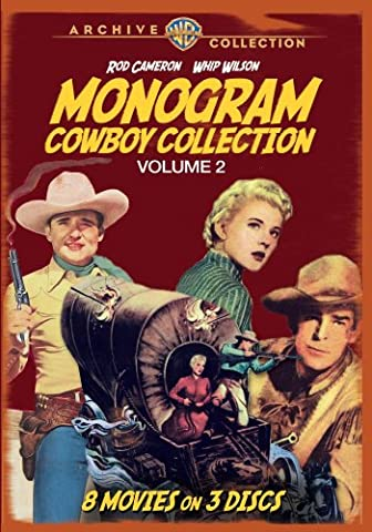 Monogram Cowboy Collection Volume 2 [DVD] [1952] [Region 1] [US Import] [NTSC]