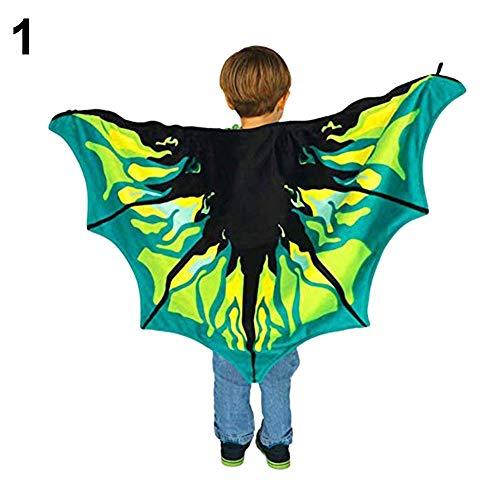 (xMxDESiZ Magische Flügel Wickeltuch Kinder Party Kostüm Warm Schal Spielzeug)