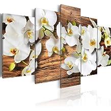 murando - Cuadro en Lienzo 200x100 cm - Impresion en calidad fotografica - Cuadro en lienzo tejido-no tejido - flores 030110-33