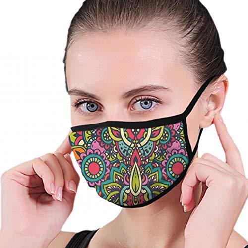 Handgezeichnete Henna abstrakte Anti Air Respirator atmungsaktive Verschmutzungsmasken Aktivkohlefiltration N95 antibakterielle Gesichtsverschmutzungsmaske - wiederverwendbar, wiederverwendbar, bequem