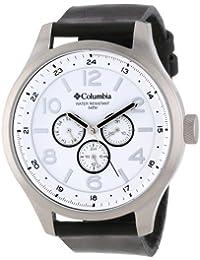 Columbia Caballero CA015004 Skyline Large Round Analogique Black Strap Reloj