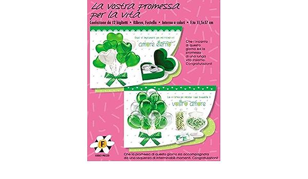 Subito Disponibile Biglietto Auguri Promessa Matrimonio La Vostra Promessa Per La Vita 1 A Amazon It Casa E Cucina