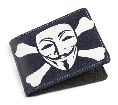 V wie Vendetta / Anonymous Guy Fawkes-Maske Herren/Damen Portemonnaie (Wallet)