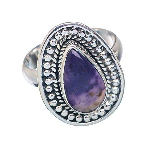 Tiffany Stone, Tiffany Stein 925 Sterling Silber Ring 7