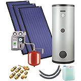 Solaranlage mit Speicher ZSH-3/300 triSol Plus
