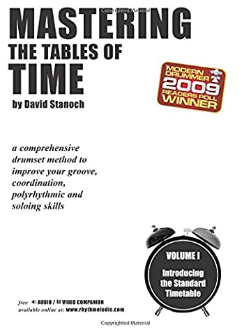 Mastering the Tables of Time -- Introducing the Standard Timetable, Vol 1: A Comprehensive Drumset Method to Improve Your Groove, Coordination, Polyrhythmic, and Soloing
