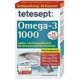 tetesept Omega-3 1000, 80 Kapseln