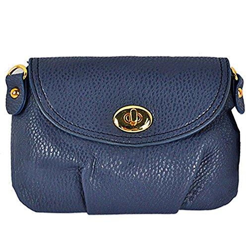 Sanwood Women'Damen Handtasche Blau - Blau
