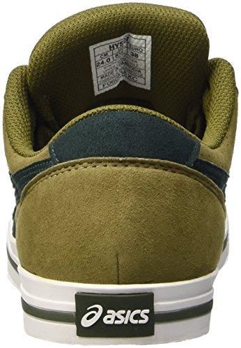 Asics Unisex-Erwachsene Aaron Low-Top Grün (olive/duffelbag)