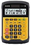 CASIO WM-320MT Tischrechner kompakt spritzwasser-/staubgeschützt, Tastatur abnehmbar + waschbar