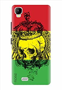 Noise King Skull Printed Cover for Intex Aqua Speed