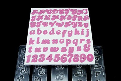 Windsor Clikstix Zuckerbuchstaben und -zahlen, komplettes Set