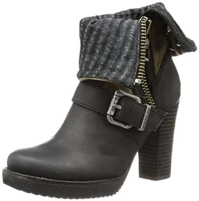 replay pippa gwp56 000 c0007t damen biker boots schwarz black 3 eu 39 schuhe. Black Bedroom Furniture Sets. Home Design Ideas