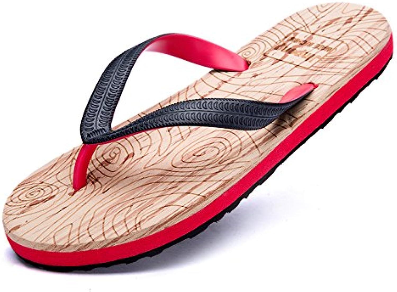 FYios Chanclas, Hombre de Zapatillas, Antideslizante de Verano Calzado de Playa, Sandalias, Zapatos de Grano de...