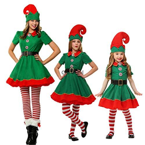 WAOBE Christmas Elf Kostüme, Frauen, Männer, Jungen Und -