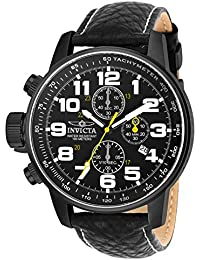 Invicta I-Force Men's Chronograph Quartz Watch with Leather Strap – 3332