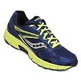 Saucony 25262-22, Zapatillas de Deporte Unisex Adulto, Varios Colores (Blue/Black/Citron), 44 EU