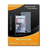 SWIDO Schutzfolie für OnePlus 3 [2 Stück] Anti-Reflex MATT Entspiegelnd, Hoher Härtegrad, Schutz vor Kratzer/Bildschirmschutz, Bildschirmschutzfolie, Panzerglas-Folie
