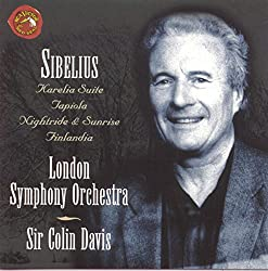 Sibelius: Karelia Suite, Tapiola, Nightride & Sunrise, Finlandia.