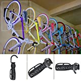 Lighter House Wall Mounted Bike Hanger Strong Iron Bike Storage Mount Hook Holder House Bicycle Wall Mounted Stands