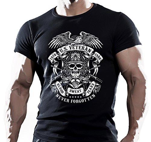 2049ffb92bb U.S. Navy Seals - Retro US Air Force Marines Mens T-Shirt Gift Top