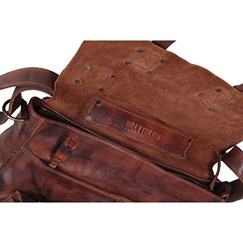 Billy the Kid Panamerica cartella portadocumenti pelle 40 cm Brown