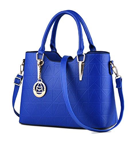 Nylon Niedlich Damen Handtaschen, Hobo-Bags, Schultertaschen, Beutel, Beuteltaschen, Trend-Bags, Velours, Veloursleder, Wildleder, Tasche Himmelblau Keshi