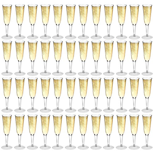 Rink Drink Flutes Champagne en Plastique en Plein air - Pack de 48